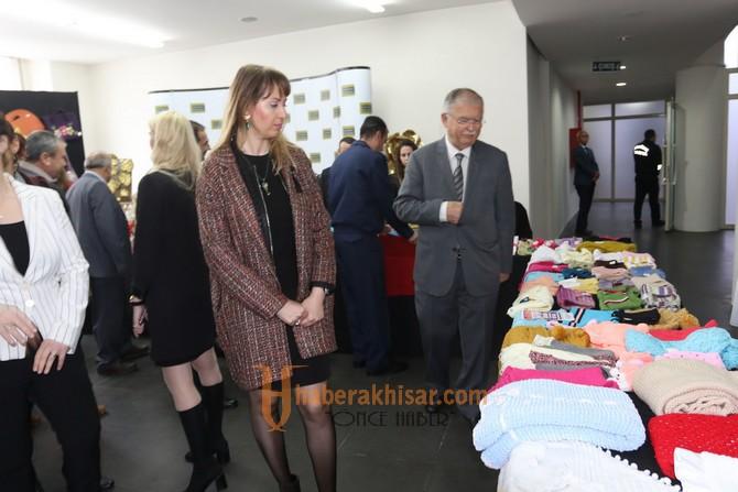 Toplum Ruh Sağlığı Merkezi el ürünleri sergisi açıldı