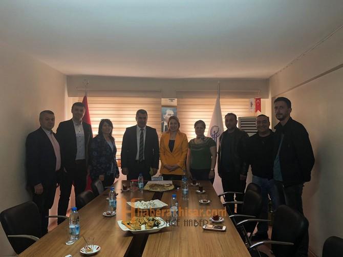 İlçe Tarım Müdürü Kılıç'tan Oda Başkanlarına Ziyaretler