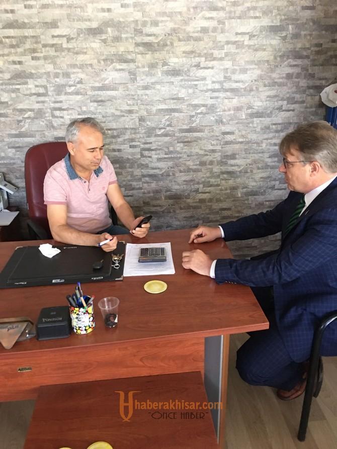 Ak Parti Manisa Milletvekili aday adayı Ergün Karaoğlu Galericiler sitesini salladı