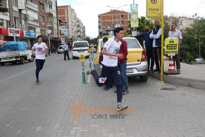 Akhisar'da ilk kez Çağlak Koşusu yapıldı