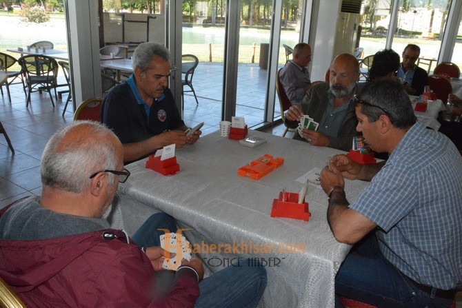 559. Çağlak Festivali 8. Briç Turnuvasına 160 sporcu katıldı
