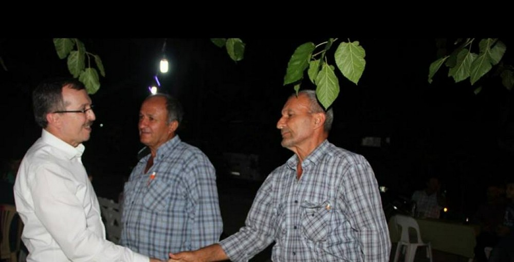 AK Parti Manisa Milletvekili Uğur Aydemir, Alaşehirliler ile buluştu