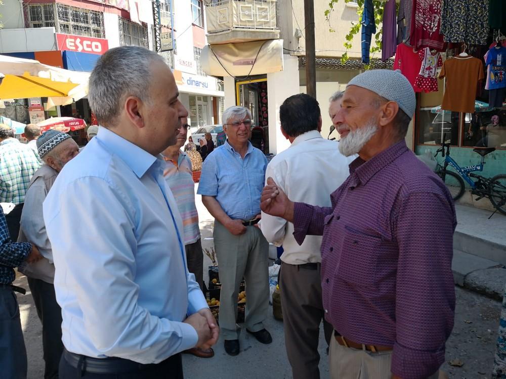 Bakırlıoğlu; ''Akhisarımız İçin, Millet İçin Geliyoruz''