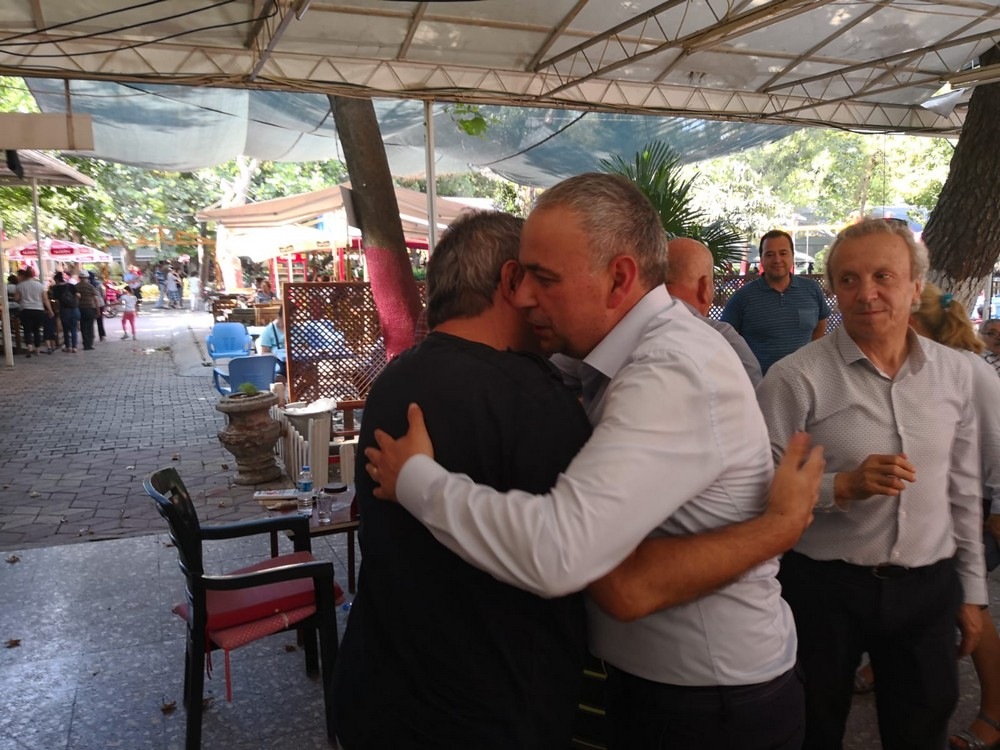 Bakırlıoğlu'ndan Park Ziyareti