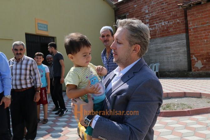 Başkan Hızlı'dan Muştullar Mahallesine ziyaret