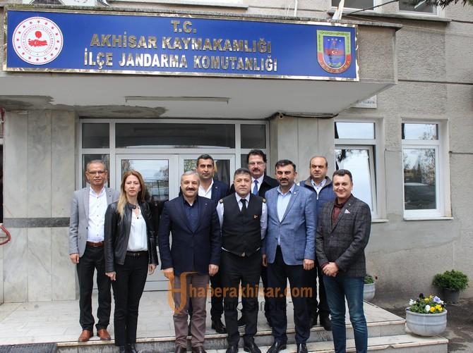 ATSO'dan Jandarma Komutanı Tekinay'a Ziyaret
