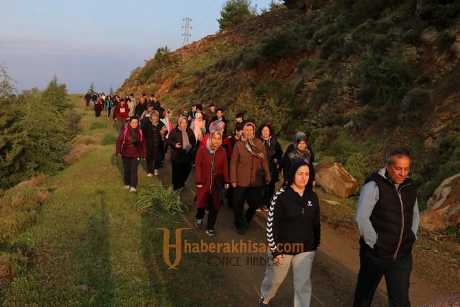 Doğa yürüyüşlerinin bu haftaki rotası Karayağcı oldu