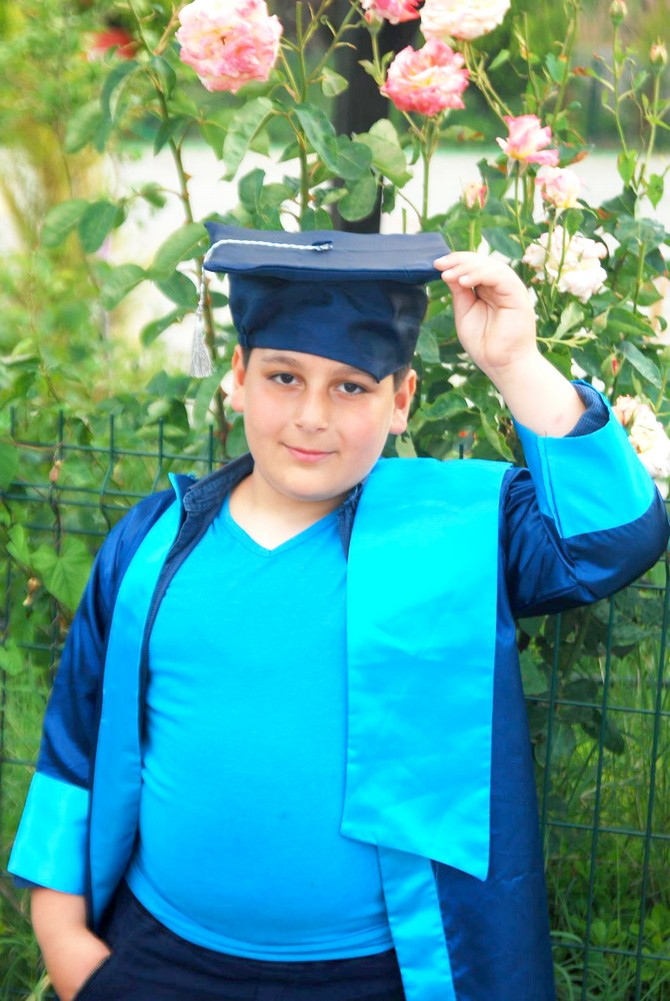 Öğrencilerin mezuniyet heyecanı