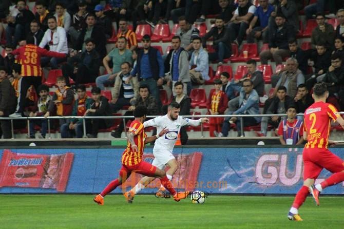 T.M. Akhisarspor; 2 - Kayserispor; 1