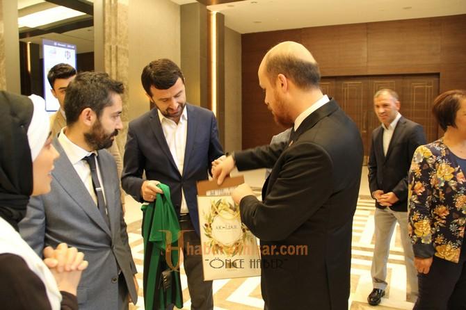 Tuğba Akcan Bilal Erdoğan ile görüştü
