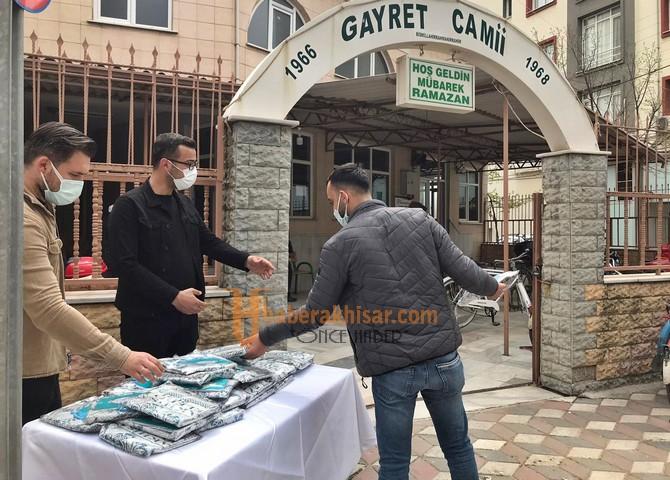 Akhisar Belediyesi Cami Cemaatini Unutmadı