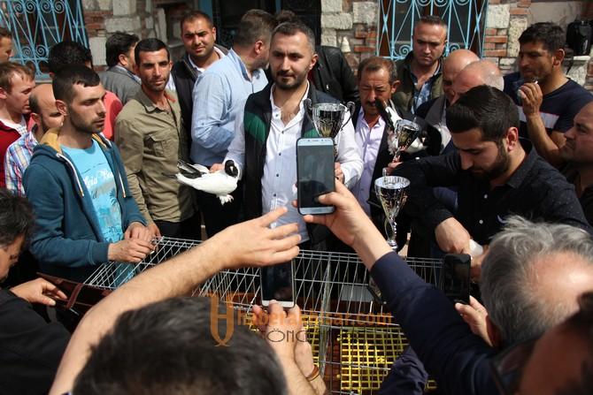 En Güzel Güvercinler Akhisar'da Şeçildi