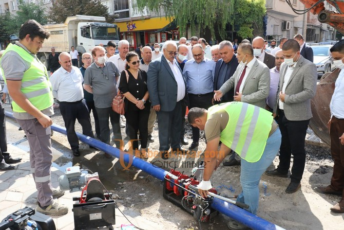 Büyükşehir ve MASKİ, Akhisar'da İncelemelerde Bulundu
