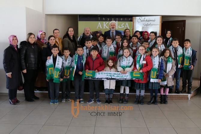 Akhisar Pehlivanoğlu İlkokulu öğrencileri şehrini keşfetti