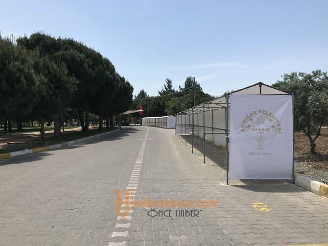 Akhisar Gölet'i festivale hazır