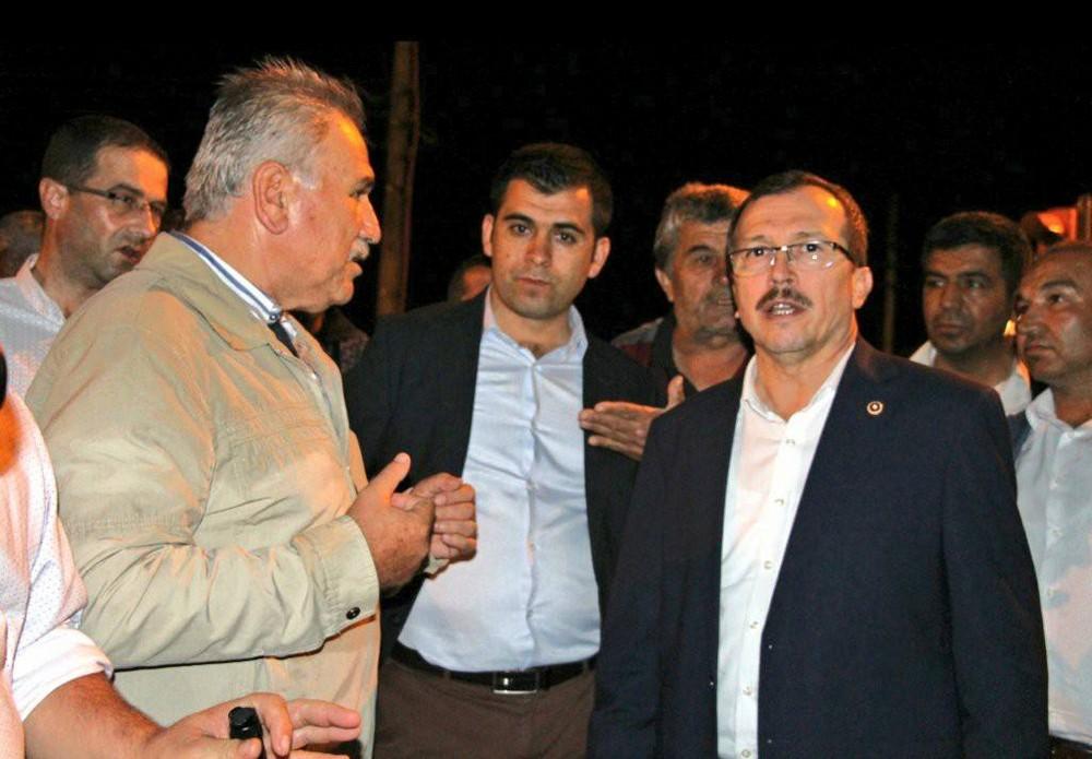 Milletvekili Uğur Aydemir, afet bölgesi Selendi ilçesini ziyaret etti