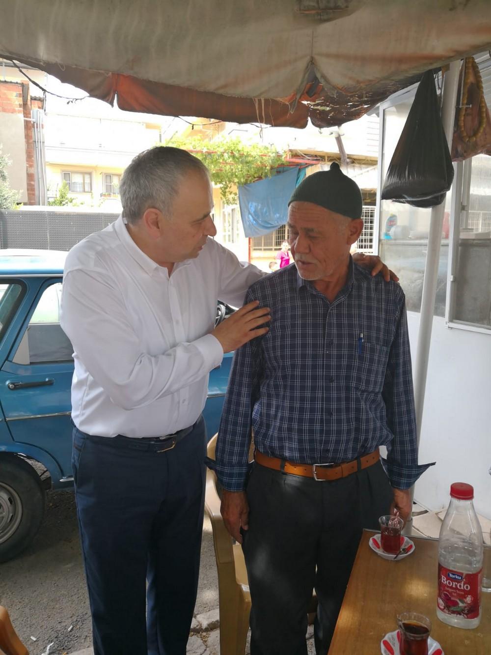 Milletvekili Adayı Bakırlıoğlu'nun Bayram Ziyaretleri Sürüyor