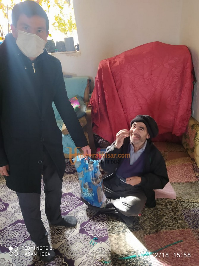 Akhisar Müftülüğü Engelli Ailelerini Ziyaret Etti