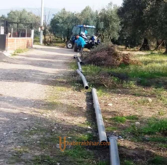 Ulucami'ye Yeni İçme Suyu Hattı