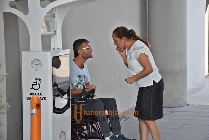 Akhisar'da engellilere büyük kolaylık