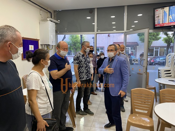 Manisa Milletvekili Aydemir'den Fatih Füzün'e Ziyaret