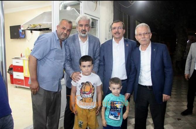 Uğur Aydemir'den, Efendi ve Cumhuriyet Mahallesinde coşkulu miting