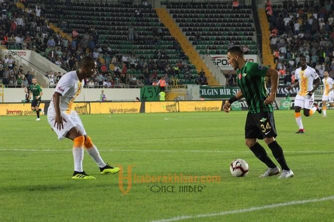Akhisarspor; 3 - Galatasaray; 0