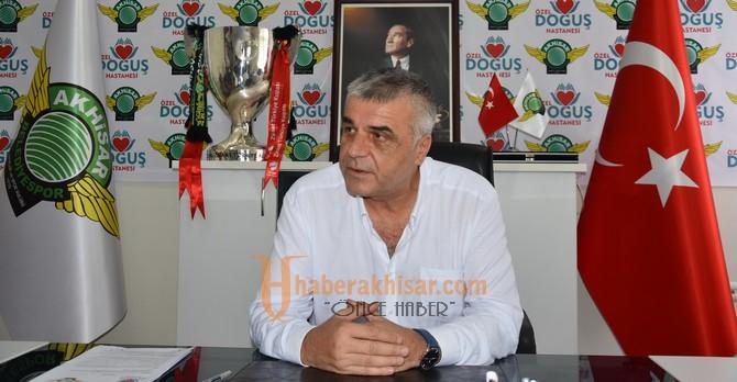 Akhisarspor'un Sağlık  Sponsoru Yeniden Özel Doğuş Hastanesi Oldu
