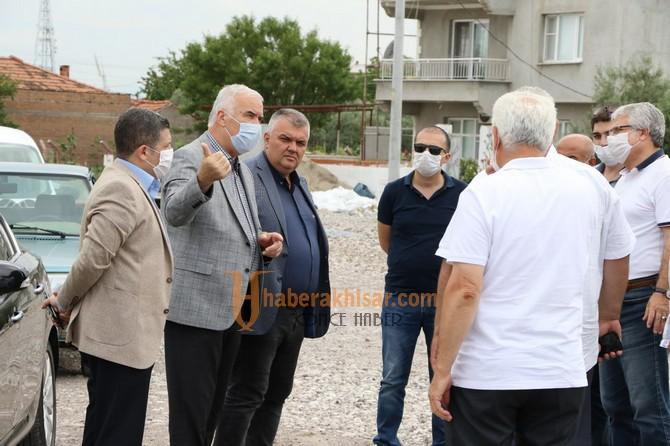 Akhisar'da Ring Yolu Büyükşehirle Tamamlanıyor