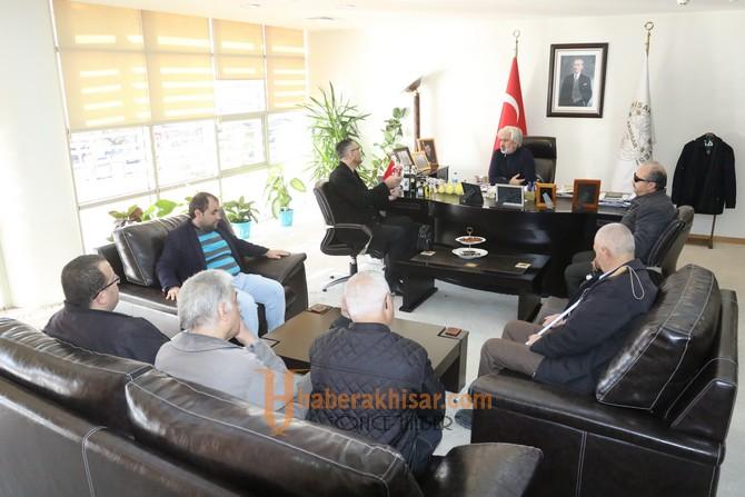 Altı Nokta Körler Derneği Manisa Şubesi'nden Belediye Başkanı Salih Hızlı'ya teşekkür