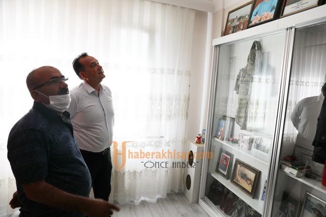 Başkan Dutlulu, Kurban Bayramı'nda Şehit Ailelerini Unutmadı