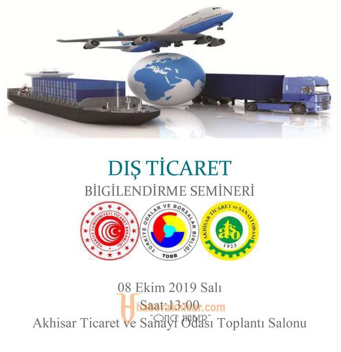 ATSO'dan Üyelerine Dış Ticaret Bilgilendirme Semineri